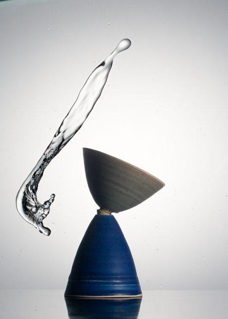 Céramique | Cône bleu (atelier de La Motte)