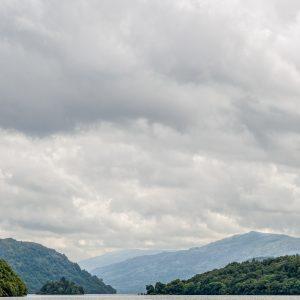 Ciel couvert sur le Loch Lomond