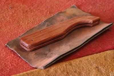 La coutellerie Farol de La Rochelle: manche de couteau (modèle : encan).