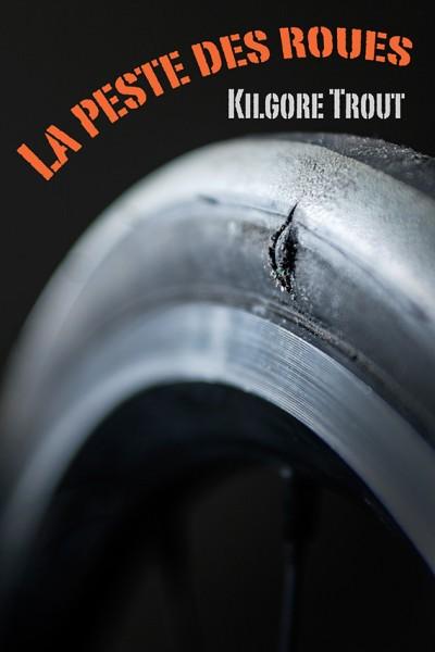 bibliothèque invisible : la peste des roues, pneu de vélo entaillé