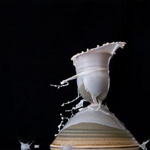 Perspectives coniques | Céramique et lait