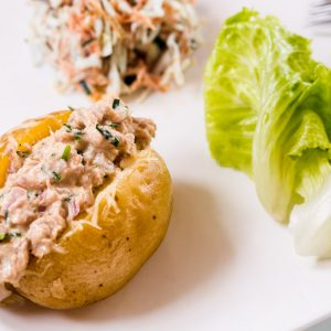 Jacket Potatoes et salade