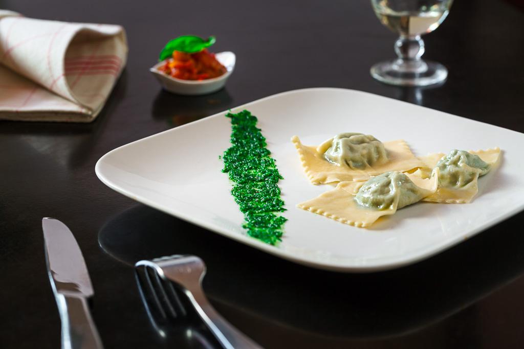 Raviolis aux blettes